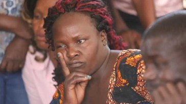 Sharon Otieno's mother