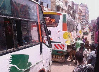 kahawa west bus