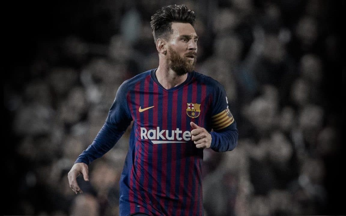 Messi hat-trick restores Barcelona's La Liga lead