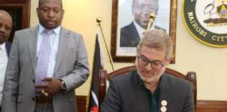 Governor Sonko, Good will ambassador