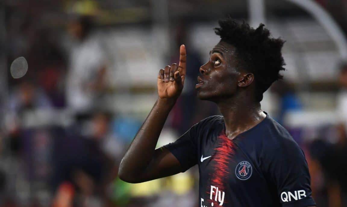 Timothy Weah Announces PSG Exit
