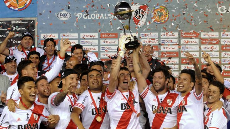 Ponzio: River players will be 'idolised' for Libertadores success