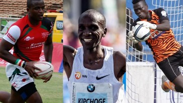 willy ambaka, patrick matasi, eliud kipchoge