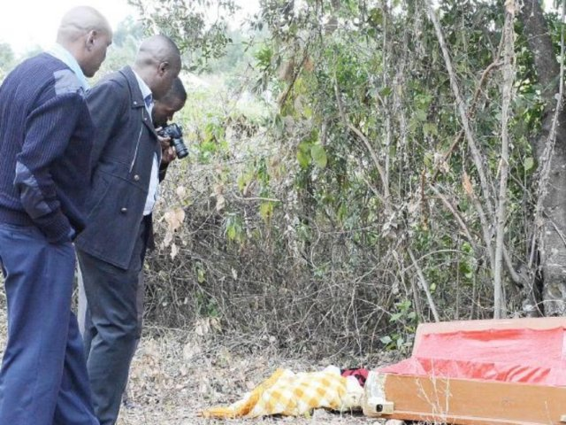 woman exhumes duaghter's remains