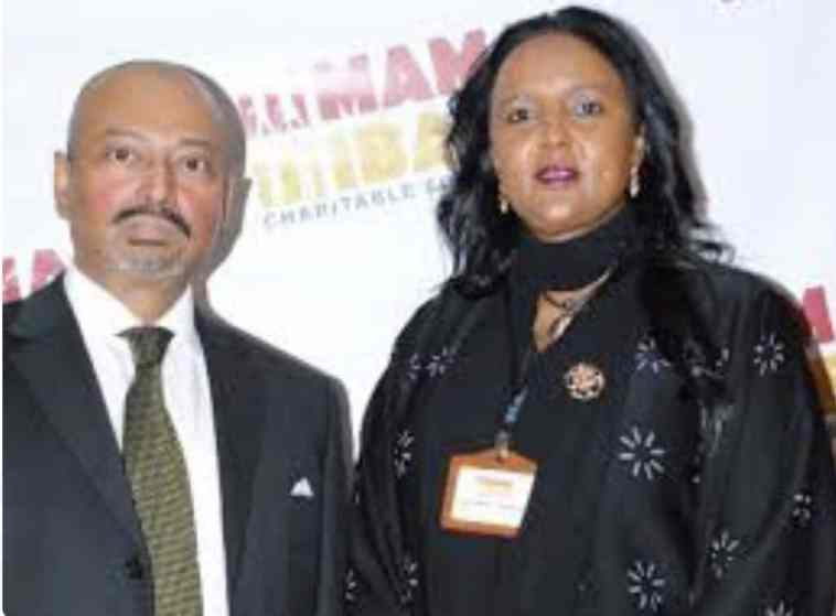 Thelate Khalid Ahmed with wife Amina Mohamed.