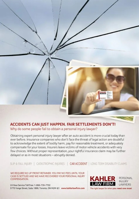 car accidents can just happen. Fair settlemnts don't. Get a lawyer