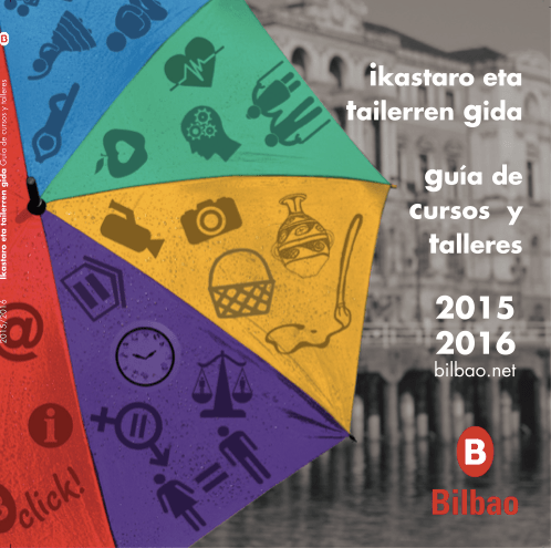 Guía de cursos y talleres del Ayto. de Bilbao