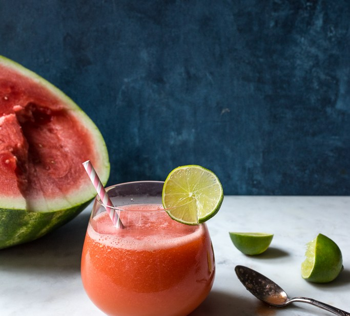 Who Wants to be a Melonairre? {Frozen Watermelon Margaritas}