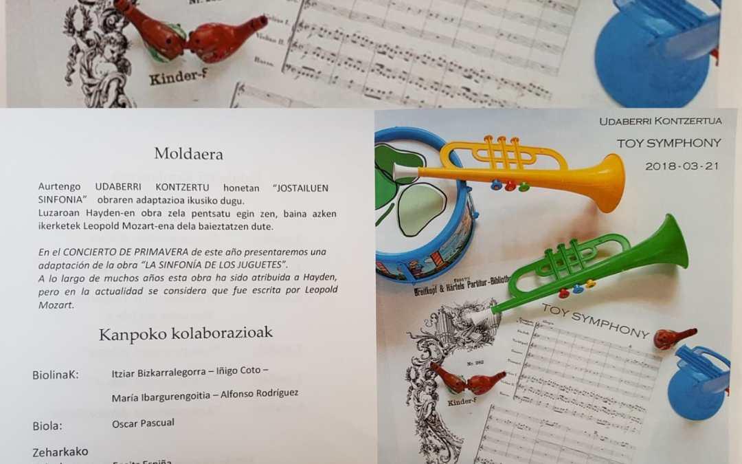 Musikaz blai Lehen Hezkuntzan