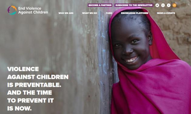 Haurren aurkako indarkeria bukatzeko kanpaina abian jarri du End Violence Against Children erakundeak