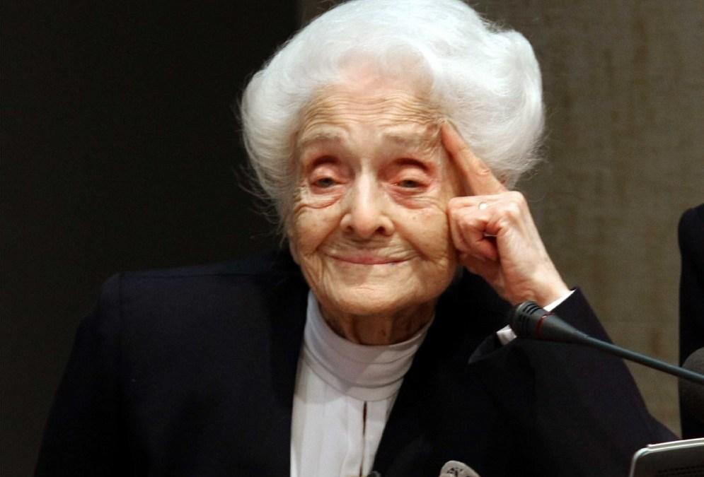 Rita Levi-Montalcini: «Izan burua ilusioz beteta, aktibo, funtzionarazi, eta ez da inoiz degeneratuko»