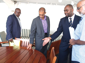Officials at the launching