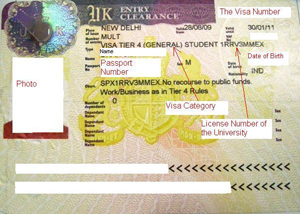 The British High Commission has outsourced it visa handling applications process.