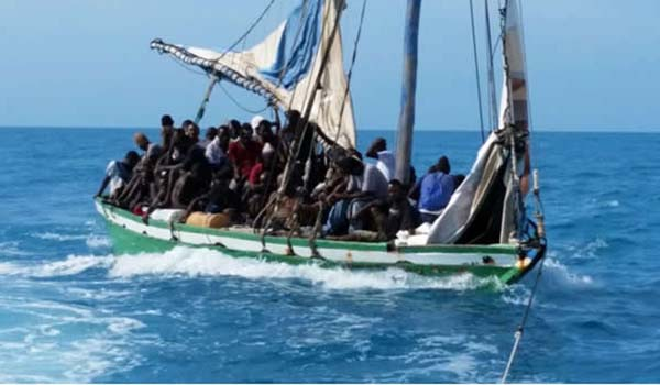 Image result for haitians on a boat
