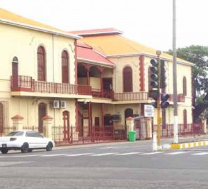Noteworthy upgrade in the vicinity of the Georgetown Magistrates' Court