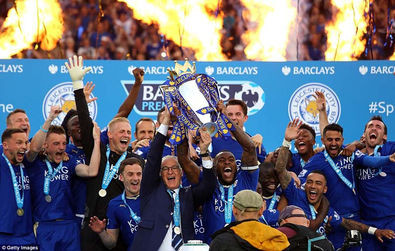 Image result for leicester champions