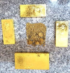 Gold declarations for the first half will go over 315,000 ounces