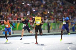 Bolt won the event in 19.78 seconds, a season best, ahead of Andre de Grasse and France's Christophe Lemaitre.
