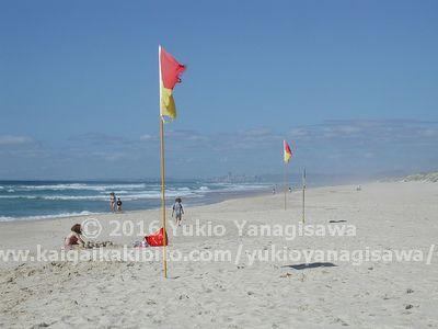 クーランコーブのビーチ