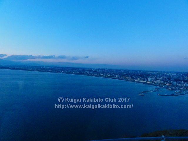 江の島シーキャンドルからの眺め
