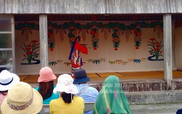 首里城の琉球舞踊