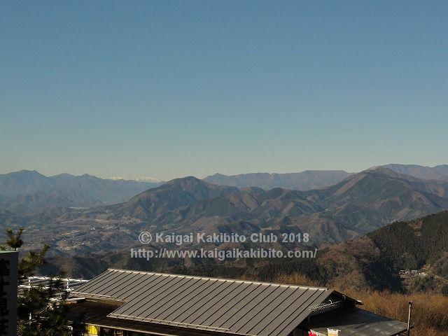 陣馬山山頂からの景色