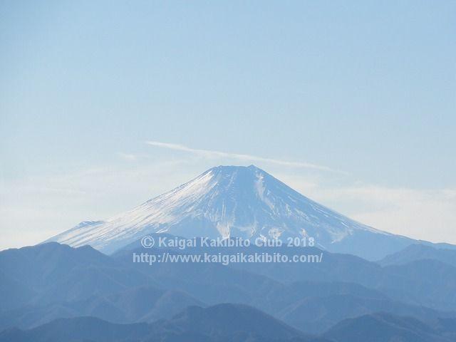 景信山から見た富士山