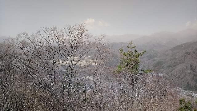 菊花山山頂からの眺め