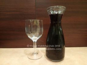 サイゼリアの250mlデカンタワイン