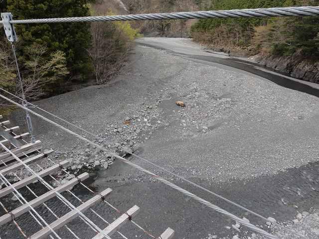 寸又峡の猿並橋