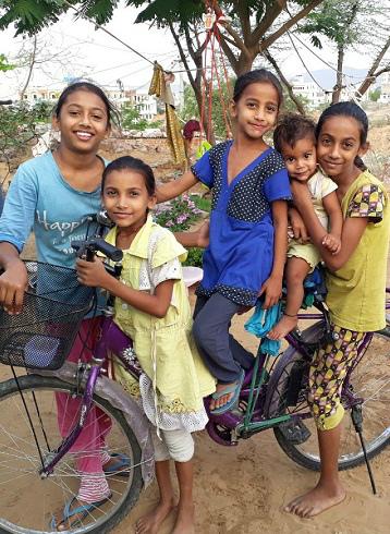 インドの5人姉妹