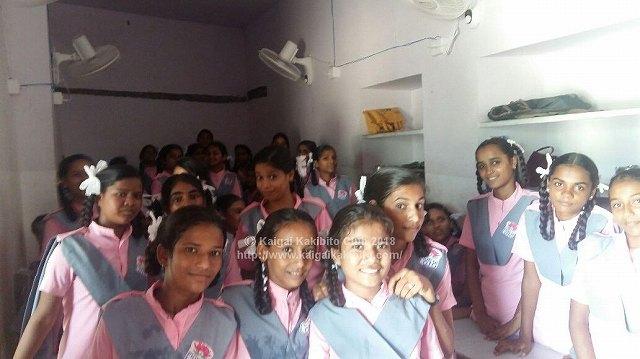 インドの学校の様子
