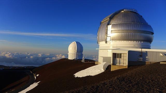 マウナ・ケア山の天文台