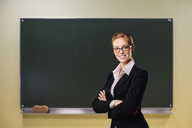 先生と黒板