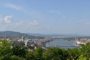 ハンガリーを流れるドナウ川