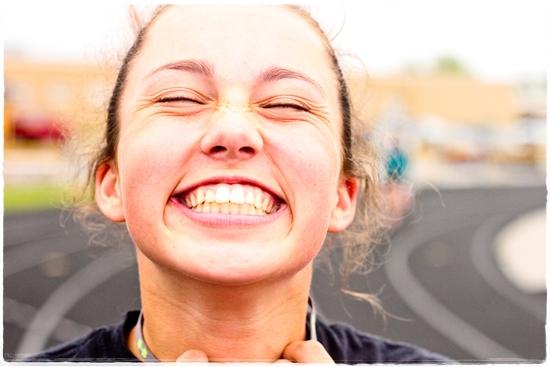 素晴らしい笑顔