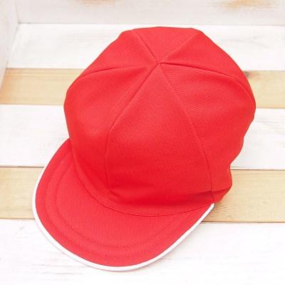 メッシュ赤白帽男子用
