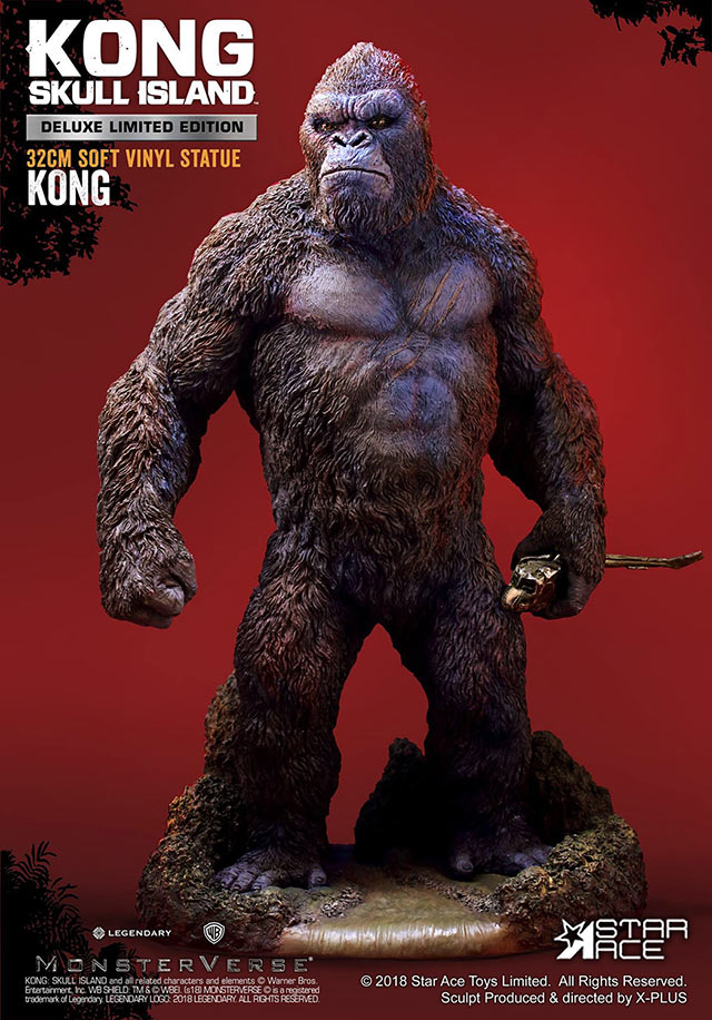 Kong Skull Island Deluxe Version Vinyl figure by Star Ace.