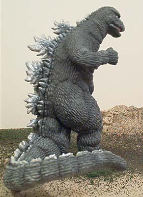 Godzilla 1973 Resin Chef Team Ukeke
