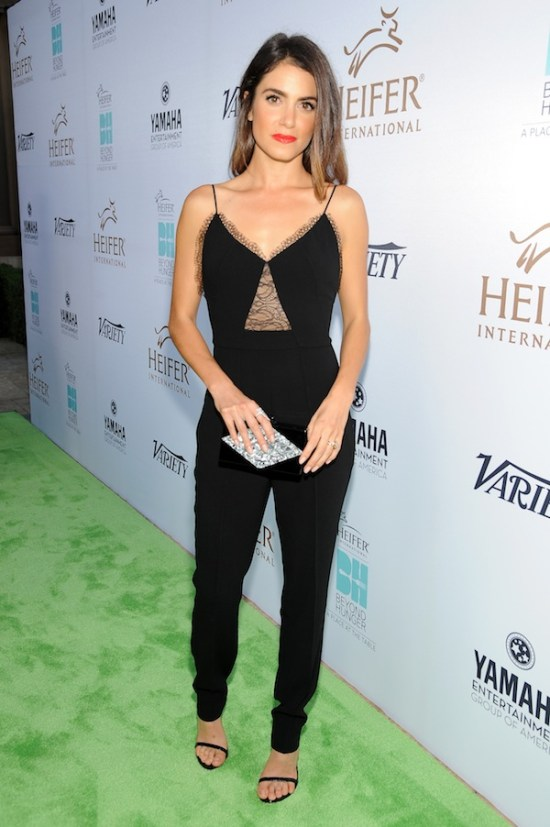 BEVERLY HILLS, CA - SEPTEMBER 18: Actress Nikki Reed attends Heifer International's 4th Annual Beyond Hunger Gala at the Montage on September 18, 2015 in Beverly Hills, California. Heifer International works to end hunger and poverty while caring for the Earth. . (Photo by Angela Weiss/Getty Images for Heifer International)
