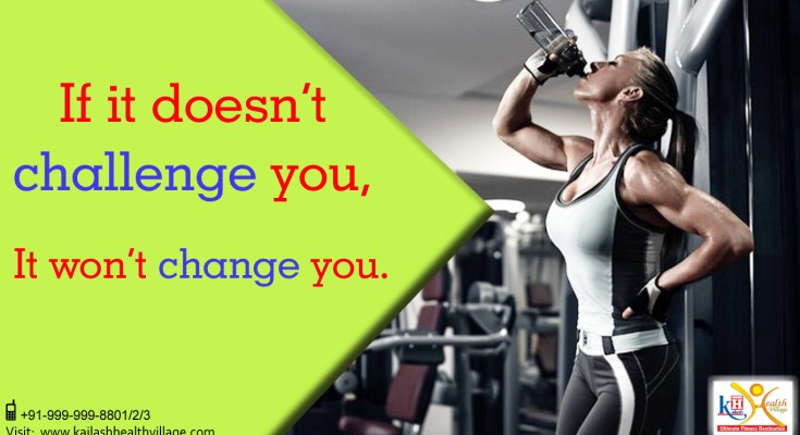 Challenge your limit to get the best fitness change in you