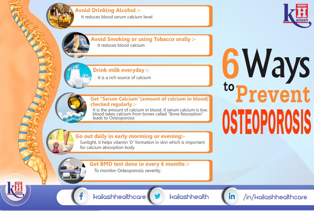 6 Ways to Prevent Osteoporosis