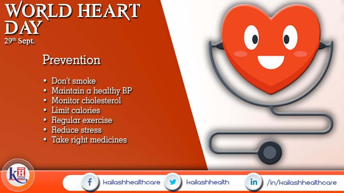 WORLD HEART DAY (29th Sep)