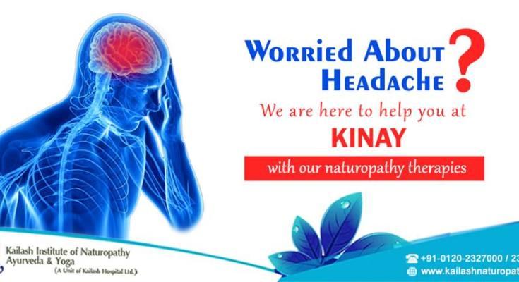KINAY's Naturopathy Therapies can treat your chronic Headache