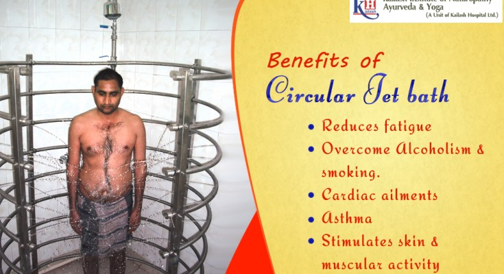 Benefits of Circular Jet Bath