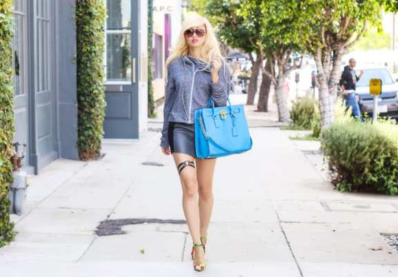Michael Kors Blue Bag 4