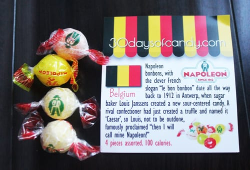 30 days of candy - Belgium Napoleon