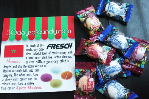 30 days of candy - Morocco Fresch