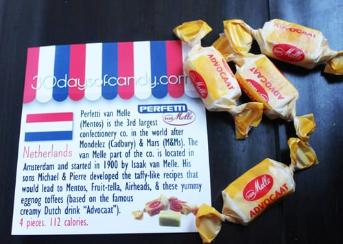 30 days of candy - Netherlands Perfetti