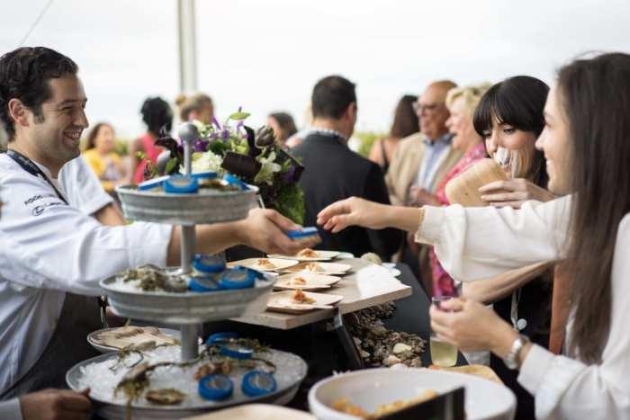 LA Food and Wine Caviar